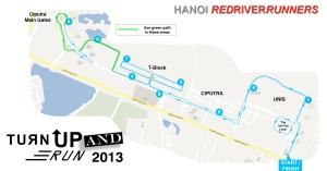 10km route 2013