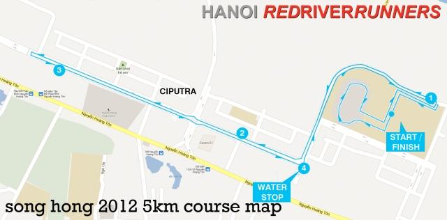 Song Hong 2013 5k course map
