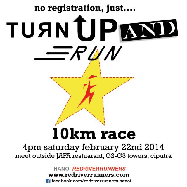 tuRn up and RUN 2014