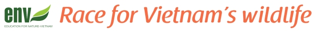 ENV Race for Vietnams wildlife logo