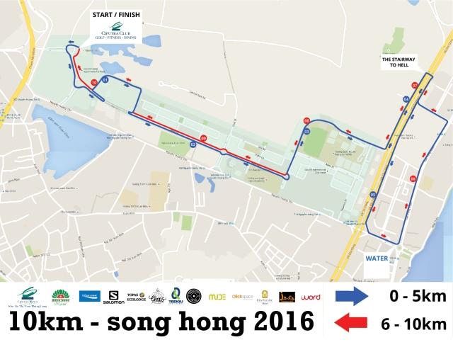 10km-course
