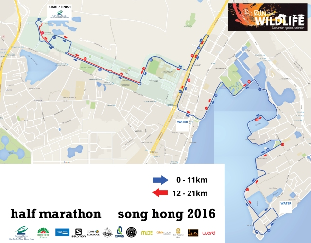 21km-course
