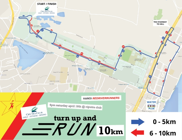 10km course