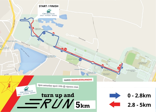 5km course